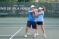tennis private lessons